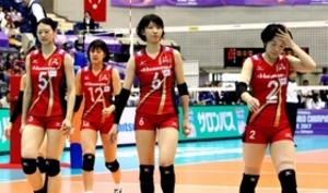久光、NECに敗れ最下位 バレー世界クラブ女子選手権