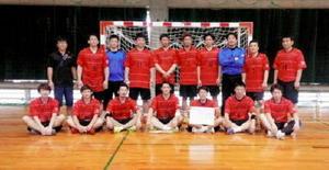 トヨタ紡織九州準V 九州女子クラブ・ハンド選手権