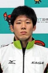 レスリング 中村(鹿島実高卒)3位 アジア選手権