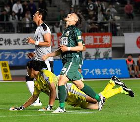 J2岐阜 熊本に敗れる