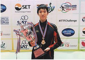 卓球 世界と戦う自信付いた 白鷹出身の五十嵐、国際大会2冠