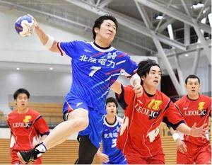 ハンドボール 北陸電力、日本リーグ勢相手に5年ぶり勝利