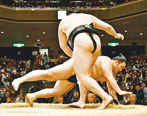 朝乃山、3敗も「次につながる」 大相撲