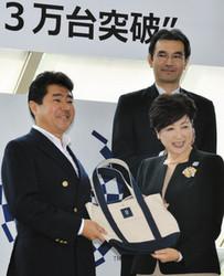 東京五輪 メダルに活用、再生金属回収 3万個突破で記念式典