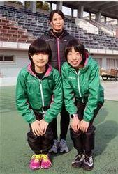 陸上 秋田出身の2人加入 女子のルートイン 藤川監督と一丸