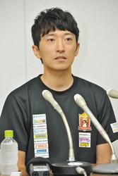 増田選手長期欠場 自転車・宇都宮、記者会見