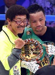 比嘉世界王者に、沖縄出身25年ぶり ボクシング・フライ級