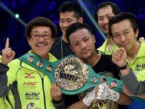 比嘉大吾、沖縄9人目の世界チャンプ ボクシングWBCフライ級