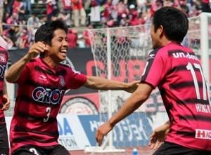 J2岡山、横浜FCに勝利 ホームで2―1、連敗ストップ