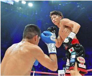 井上尚、貫禄の5度目防衛 ボクシング世界戦
