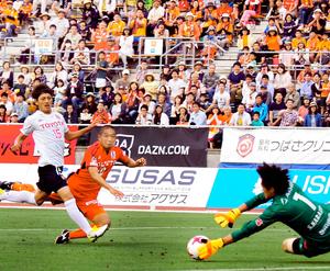 J2愛媛FC、強豪名古屋の壁・近藤先制実らず