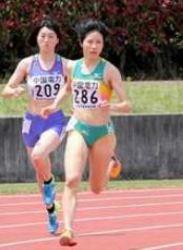 女子800m、田阪7年ぶりV 中国実業団陸上
