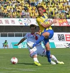 J3栃木、今季2度目の連勝 接戦制し福島に2-1