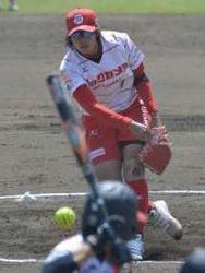 ビックカメラ開幕7連勝、単独首位 日本女子ソフトボールリーグ