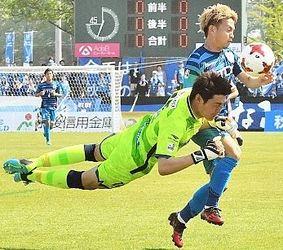 J3長野、首位秋田とドロー
