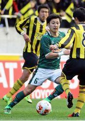 サッカー U-19初代表 三笠出身、明大1年の住永