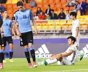 日本、ウルグアイに敗れ3位に サッカーU-20W杯