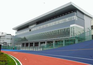平塚競輪場メインスタンドなど完成 個室ロイヤル席設置