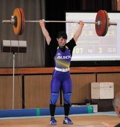 重量挙げ八木「調子上がっている」 全日本選手権へ手応え