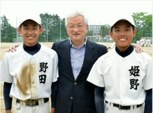 野球殿堂入りしている山中正竹さん サプライズ訪問