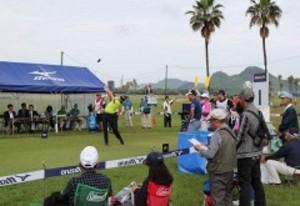 笠岡でミズノオープン開幕 男子ゴルフ、全英出場懸け熱戦
