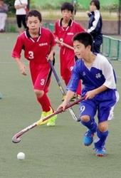 篠山市ホッケー協会長杯 全国27チームが熱戦