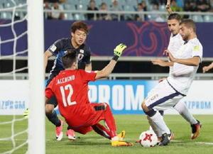 日本16強入り サッカーU-20W杯