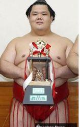 阿武咲敢闘賞に地元・中泊も歓喜 大相撲夏場所