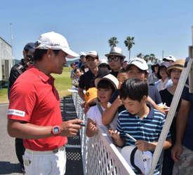 ミズノオープンゴルフ閉幕 笠岡