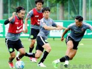 J1浦和、12対12で調整 31日済州戦