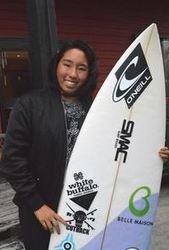 サーフィン東京五輪で飛躍誓う 徳島市出身・川合美乃里さん