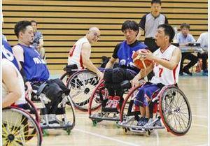 全国車いすバスケ予選、福井県は敗退