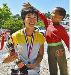 越前大野名水マラソン ハーフ女子・中江さん