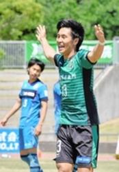 4戦9発、サウルコス福井・松尾篤 サッカー北信越リーグ