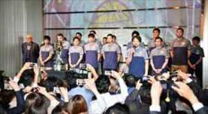 バスケBリーグ 栃木、スポンサーパーティーで優勝報告