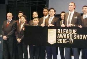 バスケBリーグ 年間表彰式、栃木から遠藤ら受賞