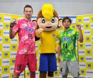 J3栃木 「県民の日」に限定ユニホーム着用