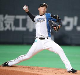 日本ハム 斎藤、623日ぶり白星 「長かった。すみません」