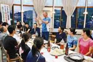 バイアスロン 全日本チームが和寒合宿 町教委などが激励