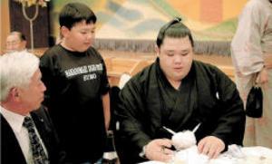 大相撲 郷土の誇りだ阿武咲関 昇進祝賀会