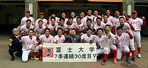 富士大挑む全国V 全日本大学野球、5日開幕