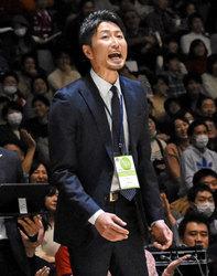 大野HC来季も続投 バスケBリーグ千葉