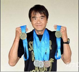 44歳で陸上挑戦、国際大会で2個の「金」 平塚市の杉崎さん