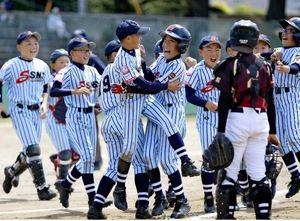 SNSが初優勝 学童軟式野球山梨県予選
