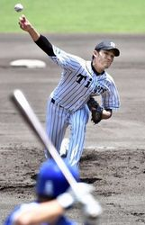 安芸市でプロ野球ウエスタン・リーグ 阪神・藤浪が好投