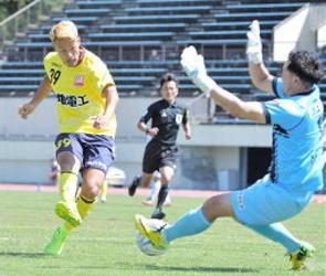 松江シティ2位浮上 中国サッカーリーグ