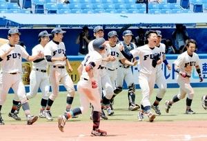 大学野球 全日本選手権 福井工大が延長十回逆転サヨナラ