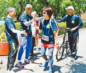 富山マラソン 野尻選手が新コース試走