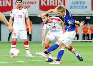 サッカー日本代表 シリアと1-1 原口、イラク戦へ存在感