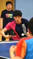 卓球の吉村選手、山口の母校凱旋